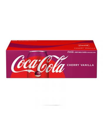 Coca-Cola Cherry Vanilla 12-Pack - 12 x 12fl.oz (355ml) Soda and Drinks Coca Cola