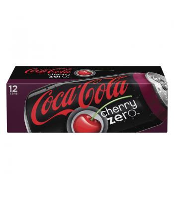 Cherry Coca Cola Zero 12 pack Diet Soda Coca-Cola