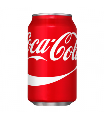 Coca Cola Classic (U.S. Origin) 12fl.oz (355ml) Can Soda and Drinks Coca Cola