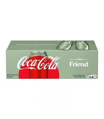 Coca-Cola Life Cane Sugar & Stevia Reduced Calorie Soda - 12-Pack (12 x 12fl.oz (355ml))
