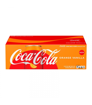 Coca Cola Orange Vanilla 12fl.oz (355ml) - 12-Pack Soda and Drinks Coca Cola