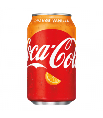 Coca Cola Orange Vanilla - 12fl.oz (355ml) Soda and Drinks Coca Cola