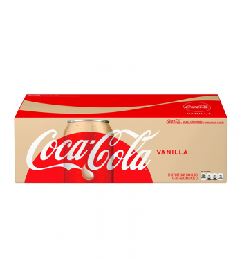 Coca Cola Vanilla 12fl.oz (355ml) Can 12-Pack Soda and Drinks Coca Cola