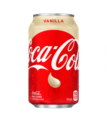 Coca Cola Vanilla - 12fl.oz (355ml) Soda and Drinks Coca Cola