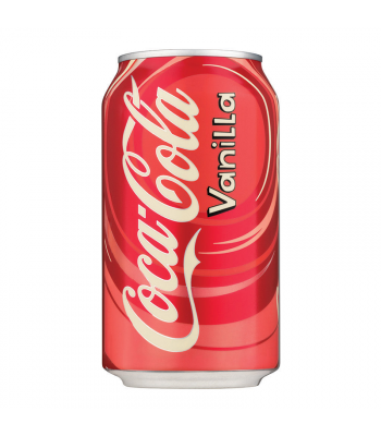 Coca Cola Vanilla 12fl.oz (355ml) Can Regular Soda Coca-Cola