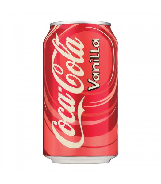 Coca Cola Vanilla 12fl.oz (355ml) Can Regular Soda Coca-Cola