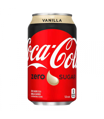 Coca Cola Vanilla Zero - 12fl.oz (355ml) Soda and Drinks Coca Cola
