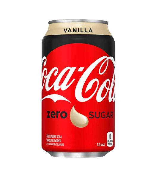 Coca Cola Vanilla Zero - 12fl.oz (355ml) Soda and Drinks Coca Cola