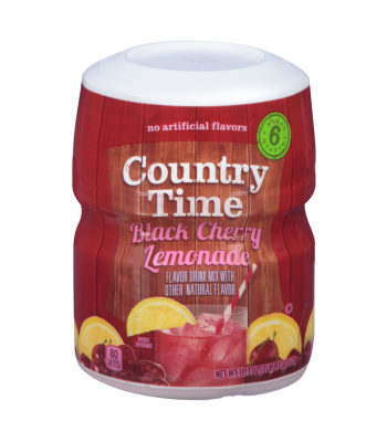 Clearance Special - Country Time Black Cherry Lemonade Tub 19oz ** May 2017 ** Clearance Zone