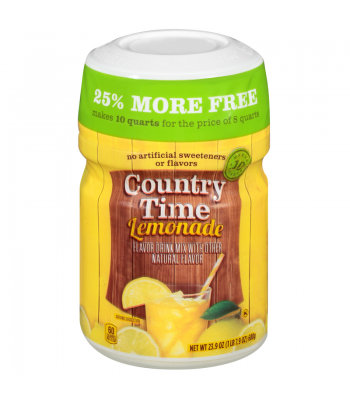 Country Time Lemonade - Bonus Pack 23.9oz (680g)