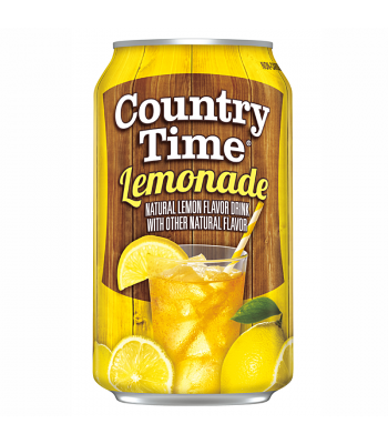 Country Time Lemonade 12fl.oz (355ml) Can Regular Soda Country Time