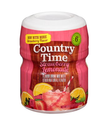 Country Time Strawberry Lemonade 18oz (510g) Drink Mixes Country Time