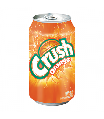 Clearance Special - Crush Orange - 12fl.oz (355ml) ** Best Before: Feb 2020 ** Clearance Zone