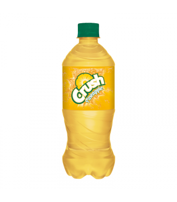 Crush Pineapple Soda - 20oz (591ml) Soda and Drinks Crush