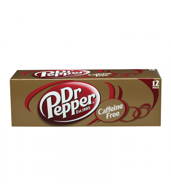 Dr. Pepper Caffeine Free - 12-Pack (12 x 12fl.oz (355ml))