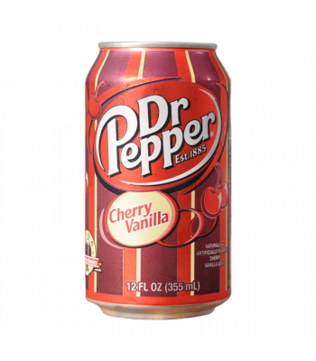 Dr Pepper Cherry Vanilla 12fl.oz (355ml) Can Regular Soda Dr Pepper