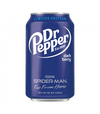 Dr Pepper Dark Berry - 12fl.oz (355ml) Soda and Drinks Dr Pepper