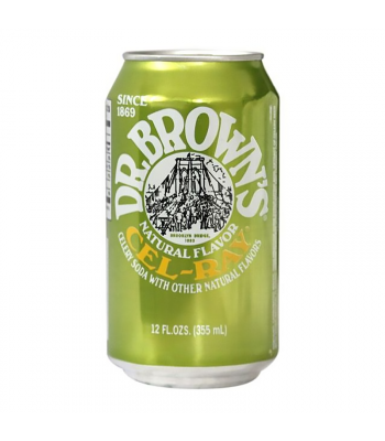 Dr. Brown's Natural Flavour Cel-Ray Soda - 12fl.oz (355ml) Soda and Drinks