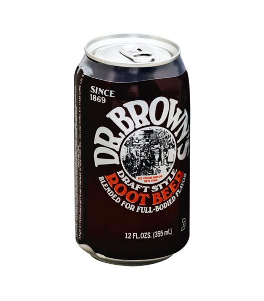Dr. Brown's Draft Style Root Beer - 12fl.oz (355ml) Soda and Drinks