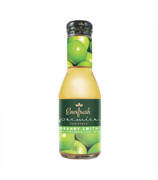 Clearance Special - Everfresh Granny Smith Apple Juice - 12fl.oz (355ml) **Best Before: 11 July 2019 ** Clearance Zone
