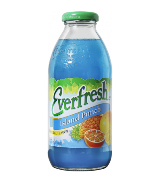 Everfresh Island Punch 16oz (473ml)  Soda and Drinks