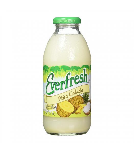 Everfresh Pina Colada 16oz (473ml) Soda and Drinks