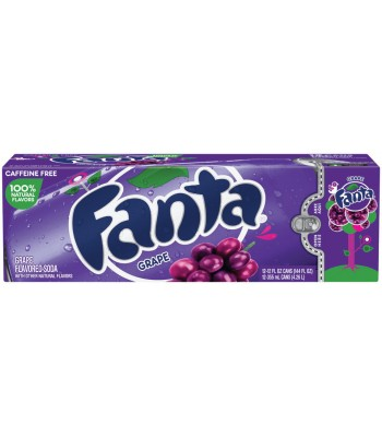Fanta Grape 12 pack cans 355ml
