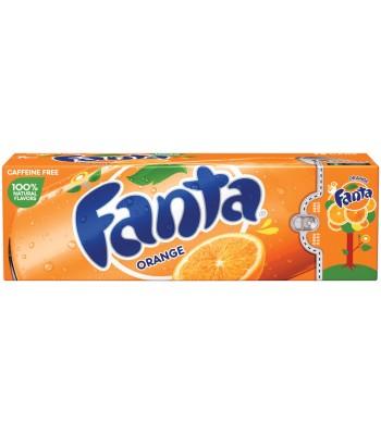 Fanta Orange 12 pack cans 355ml Regular Soda Fanta