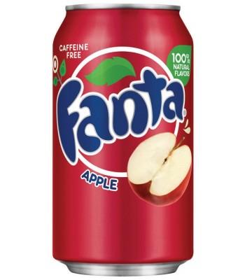 Fanta Apple 12fl.oz (355ml) Can Soda and Drinks Fanta