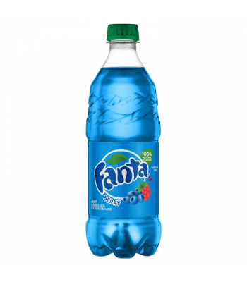 Fanta Berry - 20fl.oz (591ml) Soda and Drinks Fanta