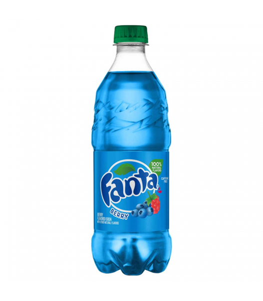 Fanta Berry - 20fl.oz (591ml) Soda and Drinks Fanta