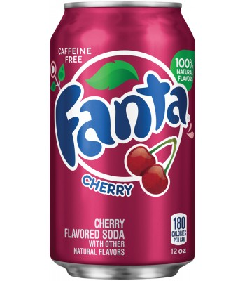 Clearance Special - Fanta Cherry 12fl.oz (355ml) ** Best Before: 16 April 2018 ** Clearance Zone