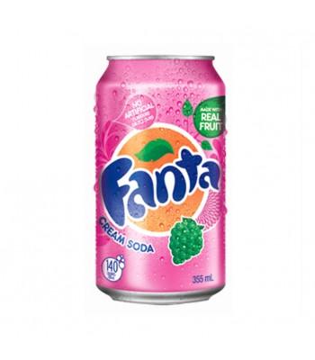 Fanta Cream Soda 12fl.oz (355ml)  Soda and Drinks Fanta