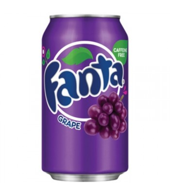 Clearance Special - Fanta Grape 12fl.oz (355ml) Can **DAMAGED** Clearance Zone