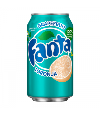 Fanta Grapefruit 12fl.oz (355ml) Can Soda and Drinks Fanta