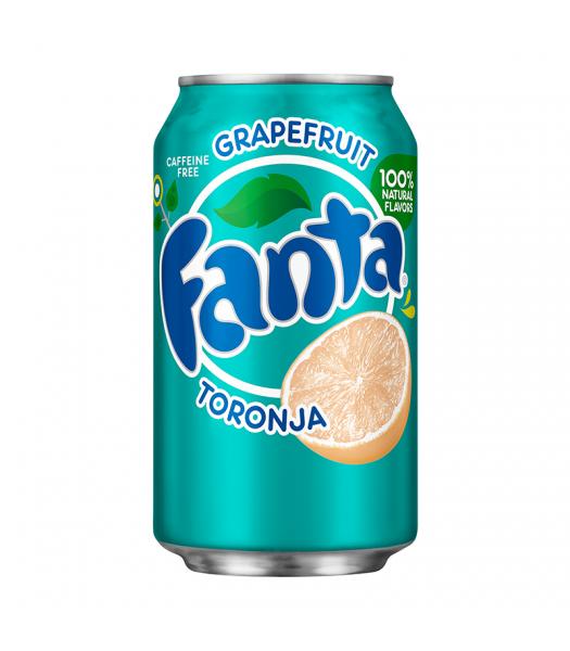 Fanta Grapefruit 12fl.oz (355ml) Can Soda and Drinks Fanta