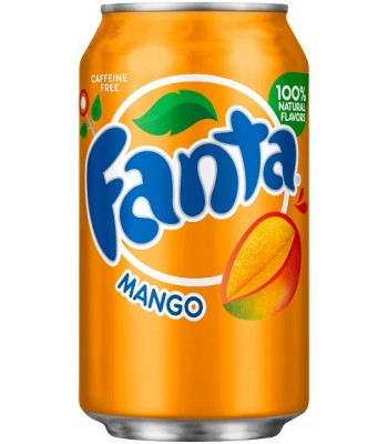 Fanta Mango 355ml Soda and Drinks Fanta