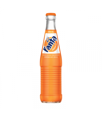 Mexican Fanta Orange Soda 355ml Soda and Drinks Fanta