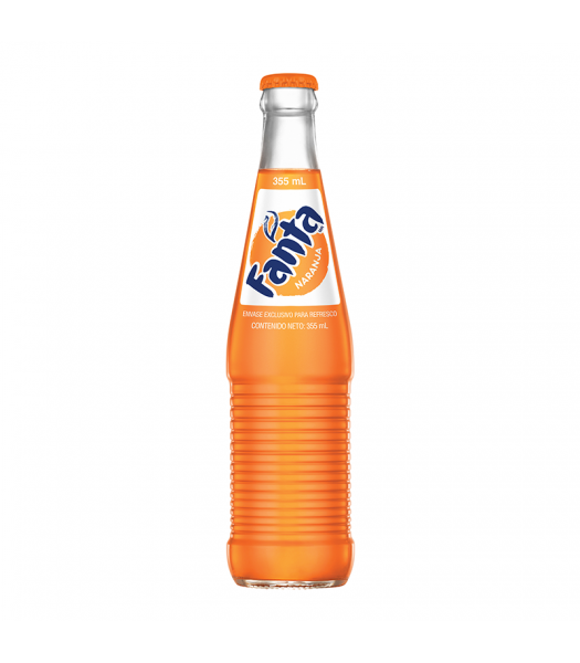 Mexican Fanta Orange Soda 355ml Soda and Drinks Fanta