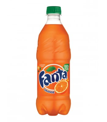 Clearance Special - Fanta Orange 20oz (591ml) **Best Before: September/October 20** Clearance Zone