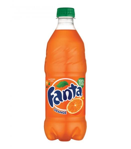 Fanta Orange 20oz (591ml)  Soda and Drinks Fanta