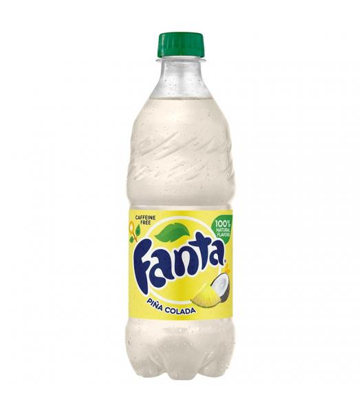 Fanta Piña Colada - 20fl.oz (591ml) Soda and Drinks Fanta