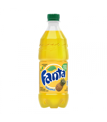 Fanta Pineapple - 20fl.oz (591ml) Soda and Drinks Fanta