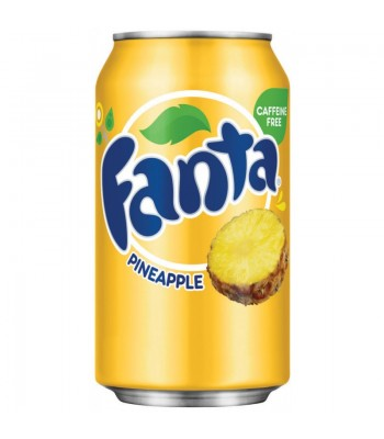 Clearance Special - Fanta Pineapple 12oz (355ml) can **DAMAGED** Clearance Zone