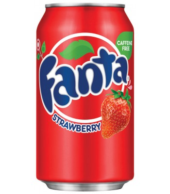 Fanta Strawberry 12fl.oz (355ml) Can