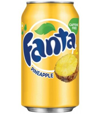 Fanta Pineapple 12oz (355ml) can Soda and Drinks Fanta