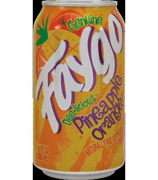 Faygo Pineapple Orange 12oz (355ml) Can