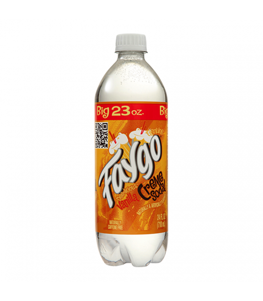 Faygo Creme Soda - 23fl.oz (680ml) Soda and Drinks Faygo