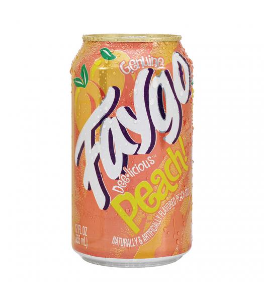 Faygo Peach - 12fl.oz (355ml) Soda and Drinks