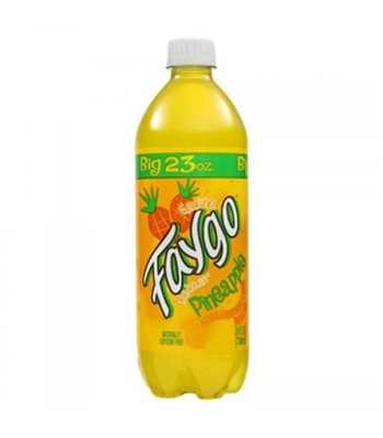 Faygo Pineapple - 23fl.oz (680ml) Soda and Drinks Faygo